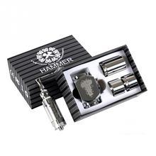 จัดส่งฟรีสแตนเลสค้อนบุหรี่อิเล็กทรอนิกส์บุหรี่อิเล็กทรอนิกส์ไอขนาดใหญ่สูบบุหรี่เครื่องฉีดน้ำ
