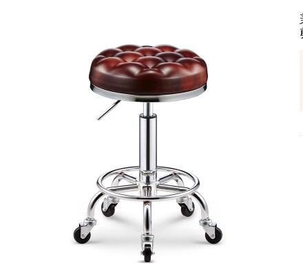 Beauty Stools. Barbershop Chairs.. Workbench Nail Stool..