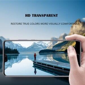 Image 4 - P20 capa completa de vidro temperado protetor de tela para huawei p20 pro película de vidro para huawei p20 lite p20 pro capa de vidro de proteção