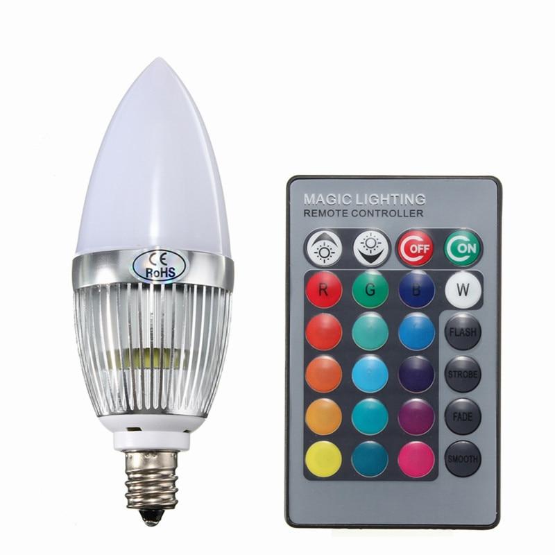 w rgb led light bulb e flash color changing chandelier, Lighting ideas