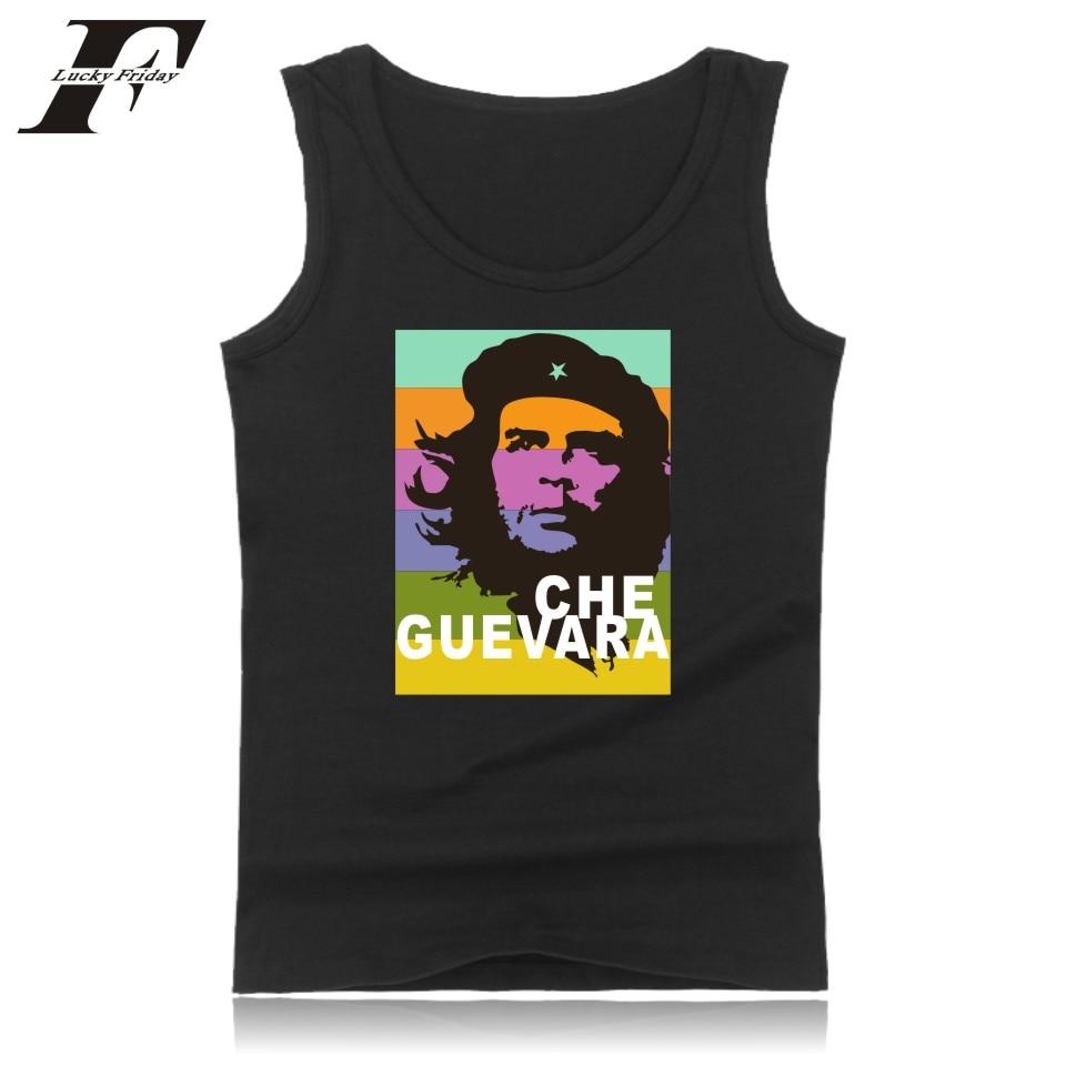 LUCKYFRIDAYF Argentina Hero   Tank     Top   Men Summer Sleeveless Che Guevara Bodybuilding   Tank     Top   Cool Streetwear Casual Funny Vest
