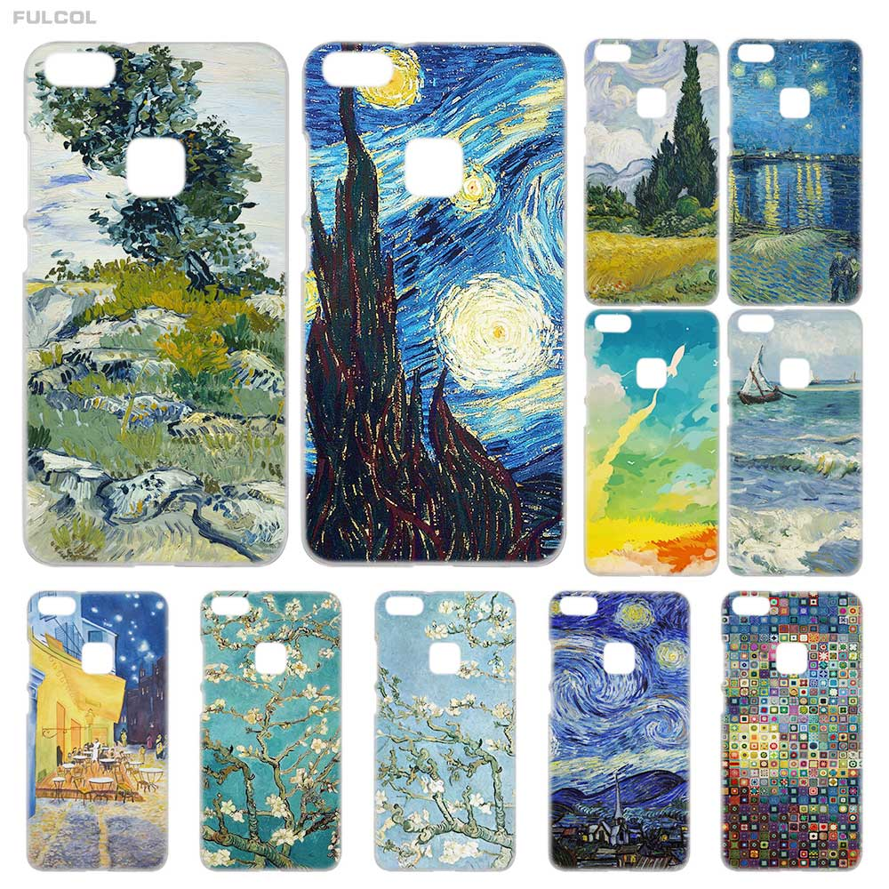 Symbol Of The Brand Lavaza Space Moon Photos Hard Phone Cover For Huawei P8 P9 P10 P20 Lite Plus 2016 2017 P20 Pro P Smart 2019 Case Durable Modeling Half-wrapped Case