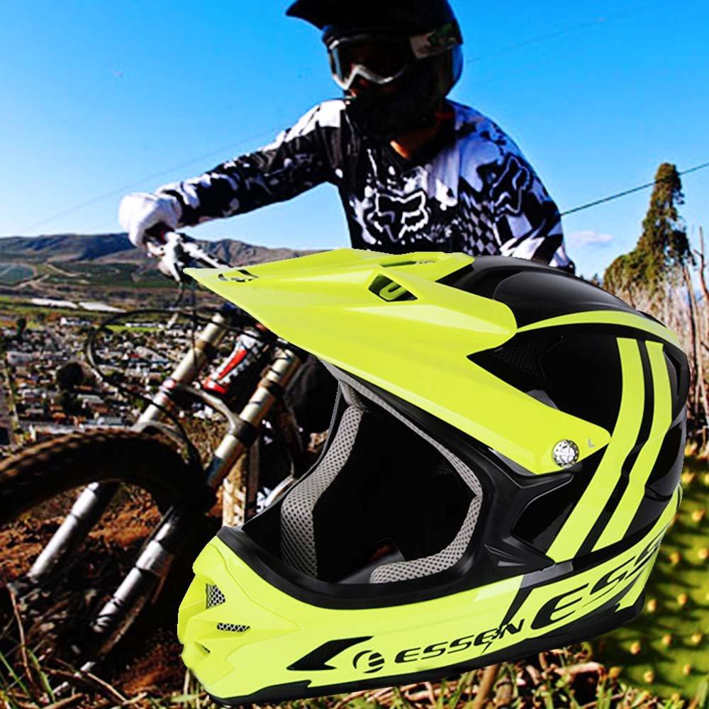ESSEN Motorcycle Adult Helmet Motocross Off Road Helmet Mountain Downhill Road Racing Helmet Cross Bicycle Helmet casque capace
