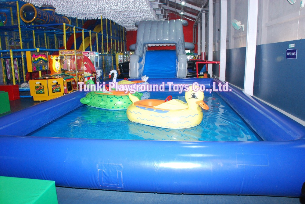 6805m high qualitypopular style pvc rectangle inflatable pool not including slide in water play equipment from sports entertainment on