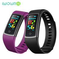 IWOWNfit S9 Wristbands Smart Band Heart Rate Monitor Smartband Fitness Smart Band Blood Pressure Bracelet For