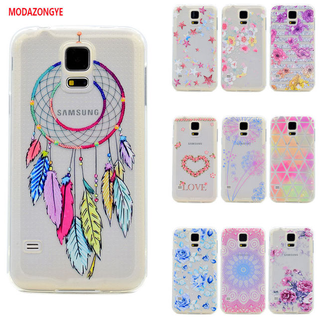 for samsung s5 mini case luxury soft tpu phone case back cover for