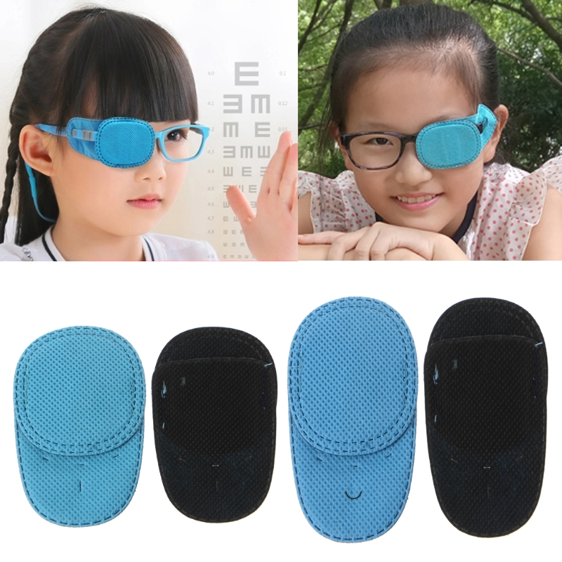 6pcs Amblyopia Eye Patches For Glasses Kids Strabismus