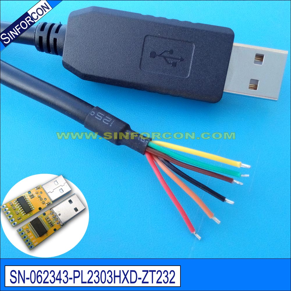 mcu plc pos scanner printer pl2303hxd android usb host serial adapter cable