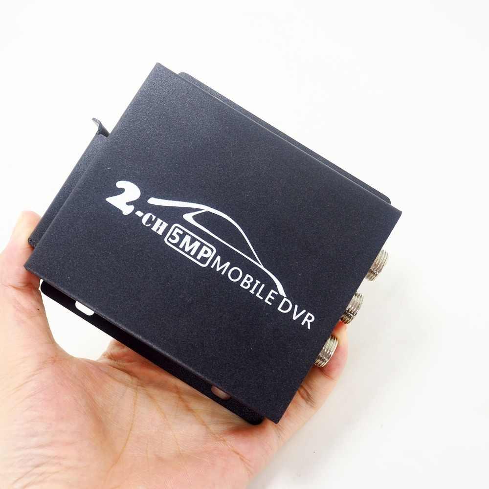 20 шт./лот новейший 2CH Мини Мобильный dvr в режиме реального времени 1080 P dual-SD карта поддержка 128 ГБ/CVBS/AHD 5.0MP DHMI автомобильный Мобильный DVR