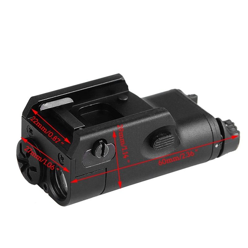 XC1 Lanterna 200 Lumens Arma Pistola de