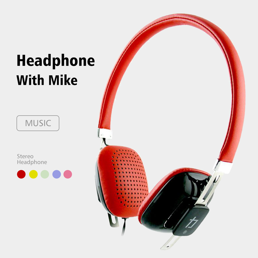 Oatsbasf New Wired Headphones With Microphone Ear Headsets Sound Music Stereo Earphone For iPhone Xiaomi Huawei in Headphone Headset from Consumer Electronics