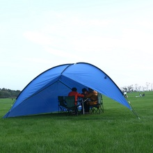 Hillman outdoor increased cloth triangle tent camping family beach awning