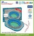 2015 new clever&happy Paper 3D Puzzle Model Mexico Estadio Azul Stadium Football Sport Souvenir NIB