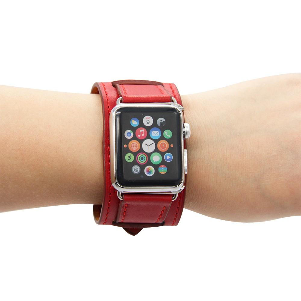 Apple Watch Cuff bracelet Red 2