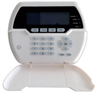 12V DC Wired keypad for FC 7688 TCP/IP GSM GPRS Alarm System PSTG Alarm System with wired zone