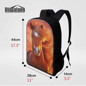 Image 4 - Dispalang Fashion School Backpack Fox Printing Women Children School Bag Kids Back Pack Mens Knapsack Travel Bags for Teenagers