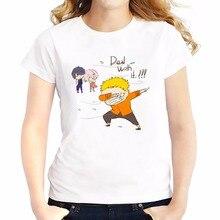 Naruto Uzumaki Dabbing women t-shirt