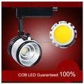 Indoor industrial Track Lighting fixtures 110V 230V LED COB 20W spot jewelry showcase LED tracking spot light aluminium cylinder