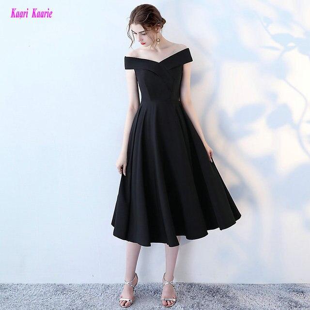 41f05d8bd0a Простые черные вечерние платья