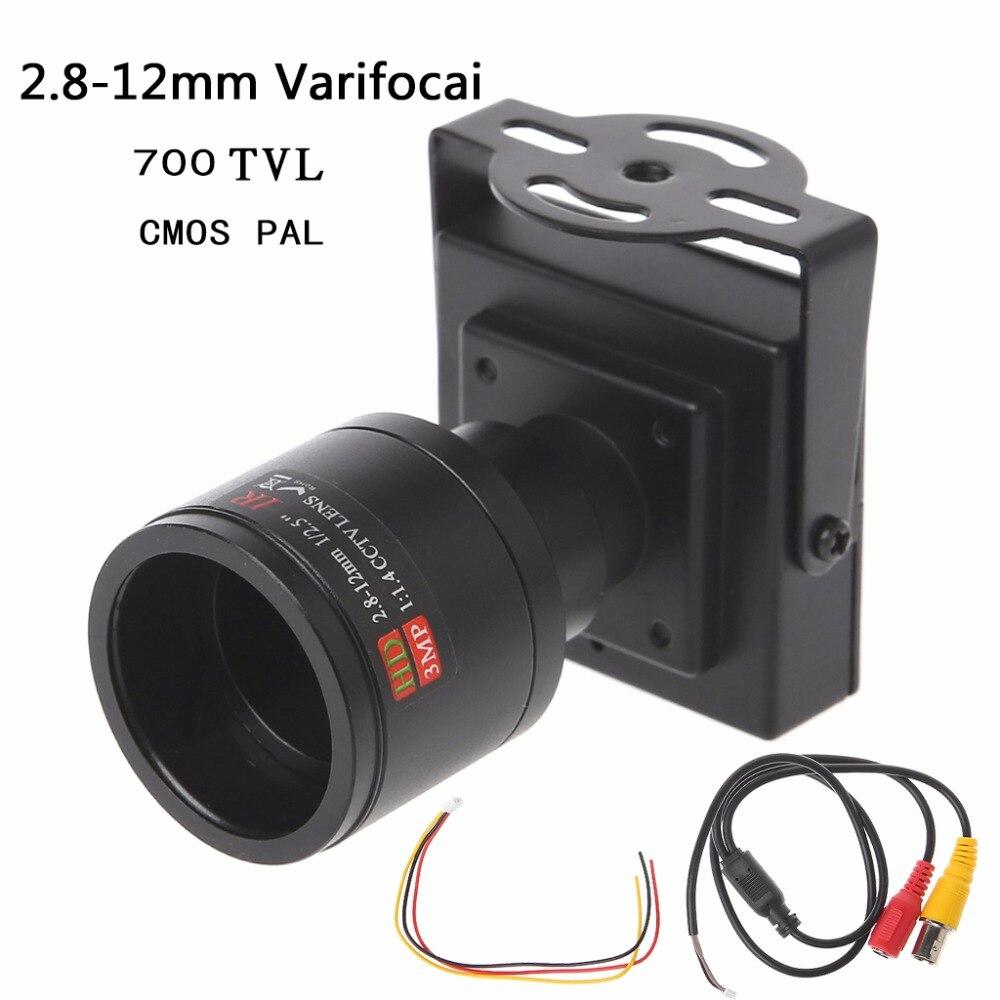 Image 2 - 700TVL Mini caméra de vidéosurveillance à objectif  2.8 12mm pour la sécurité, le dépassement de voiturePièces pour dispositif de vidéosurveillance   -