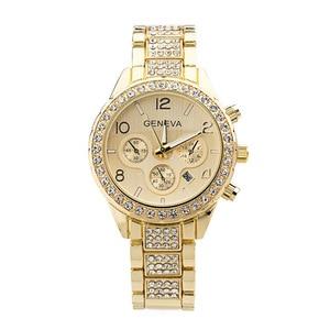 Image 4 - Kadın saatler paslanmaz çelik zarif izle kadınlar Rhinestone lüks günlük kuvars saat Relojes Mujer 2020 yeni gelenler 876
