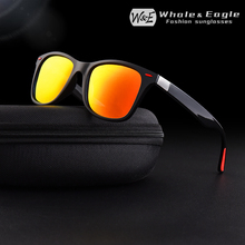 W&E Classic Polarized Sunglasses Men Plastic Frame Women Fashion Brand Designer Driving Sun glasses Goggles Coating UV400 Cool