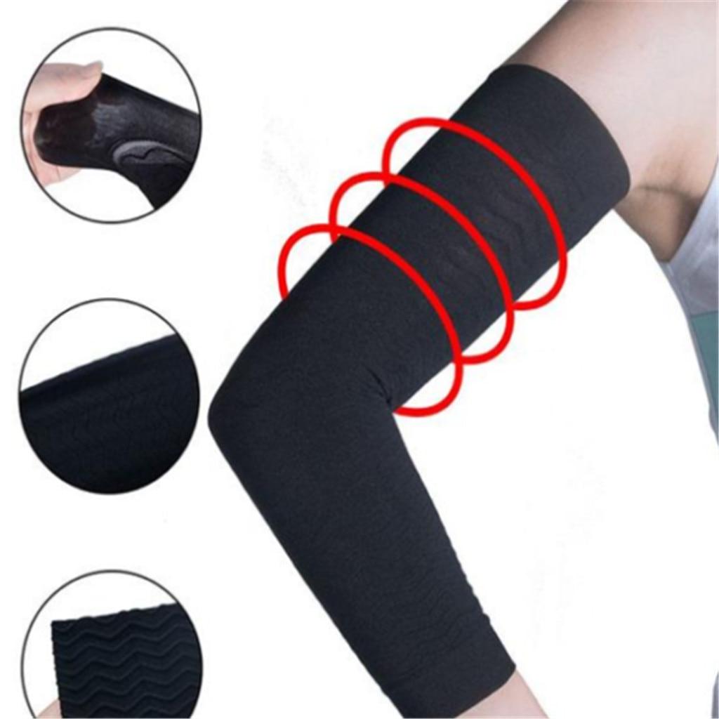 Women Elastic Shaperwear Slimming Arm Shaping Sleeves Shaper Beige Black  6.4