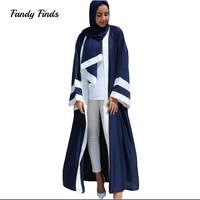 Women Simple Muslim Worship Lady Gown Middle East Robe Islamic With Hood Abaya Praying Hijab Dress Women's Prayer Garment