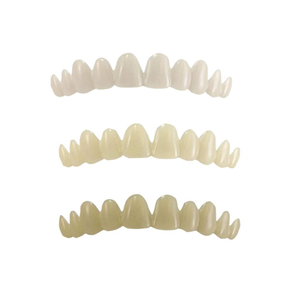 Newest Smile Natural Temporary Replace Missing Bad Teeth Cover Veneers Denture Oral Care Cosmetic Teeth Denture Teeth Top Cosmet