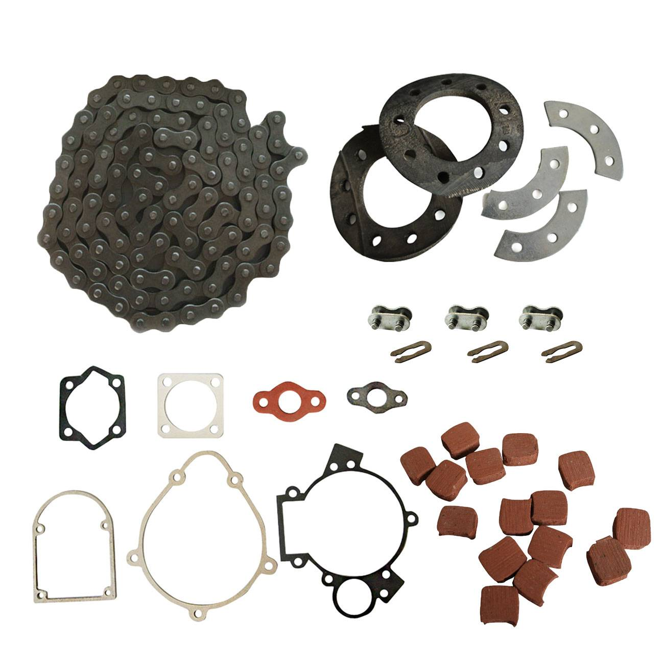 415 Chain&Sprocket Mount Kit Fits 49 /60 /80cc 2 Stroke Engine Motorized Bicycle