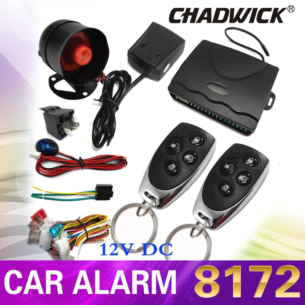 12 V système d'alarme de voiture universel pour lada voiture Auto télécommande centrale Kit serrure de porte verrouillage véhicule sans clé système d'entrée CHADWICK 8172
