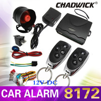 12V car alarm system Universal For lada Car Auto Remote Central Kit Door Lock Locking Vehicle Keyless Entry System CHADWICK 8172