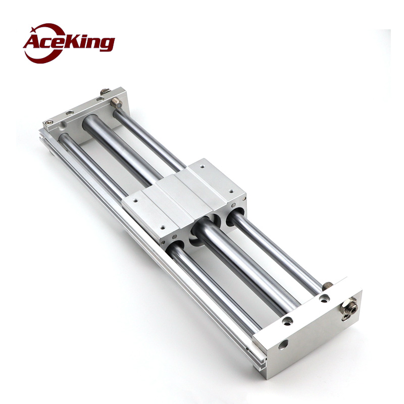 Magnetic coupling rodless cylinder CY1L RMT rodless cylinder 1000 lift AirTAC type long stroke cylinder with guide rail CY1L15 in Pneumatic Parts from Home Improvement