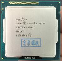 Процессор Intel Core i5-3570S I5 3570 S кабельный адаптор cpu (6 Мб кэш, 3,1 ГГц) LGA1155 настольный процессор четырехъядерный процессор