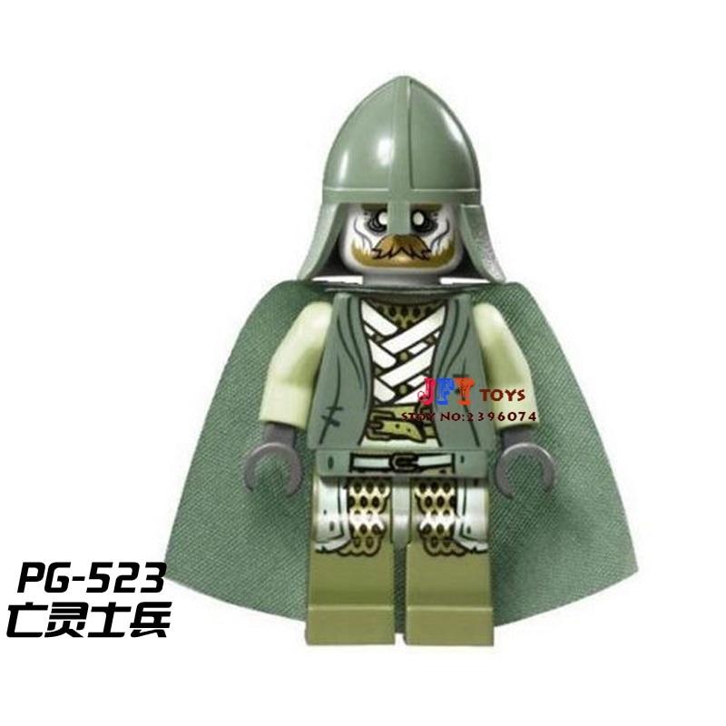 50pcs starwars Hobbit Soldier of the Dead building blocks bricks friends for girl kids children toys brinquedos menina