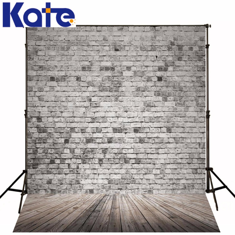 Photography Backdrops Gray Brick Background Wood Brick Wall Backgrounds For Photo Studio Ntzc-078 300cm 200cm 7ft 10ft classic wood photography background woodvintage photo propsbackdrop photo ntzc 033