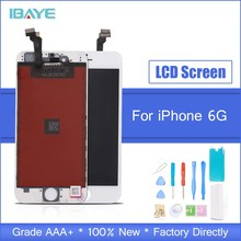 AAA Quality Display For iPhone 6 LCD Touch Screen display for iphone6 4.7 lcd Digitizer Assembly Black + Tools