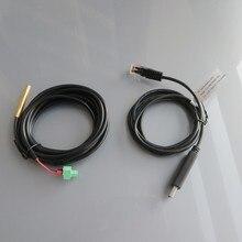 Sensor de Temperatura Rts300r47k3.81a plus Communicationcabo USB para Rs485 Cc-usb-rs485-150u PC para EP Solar Regulador
