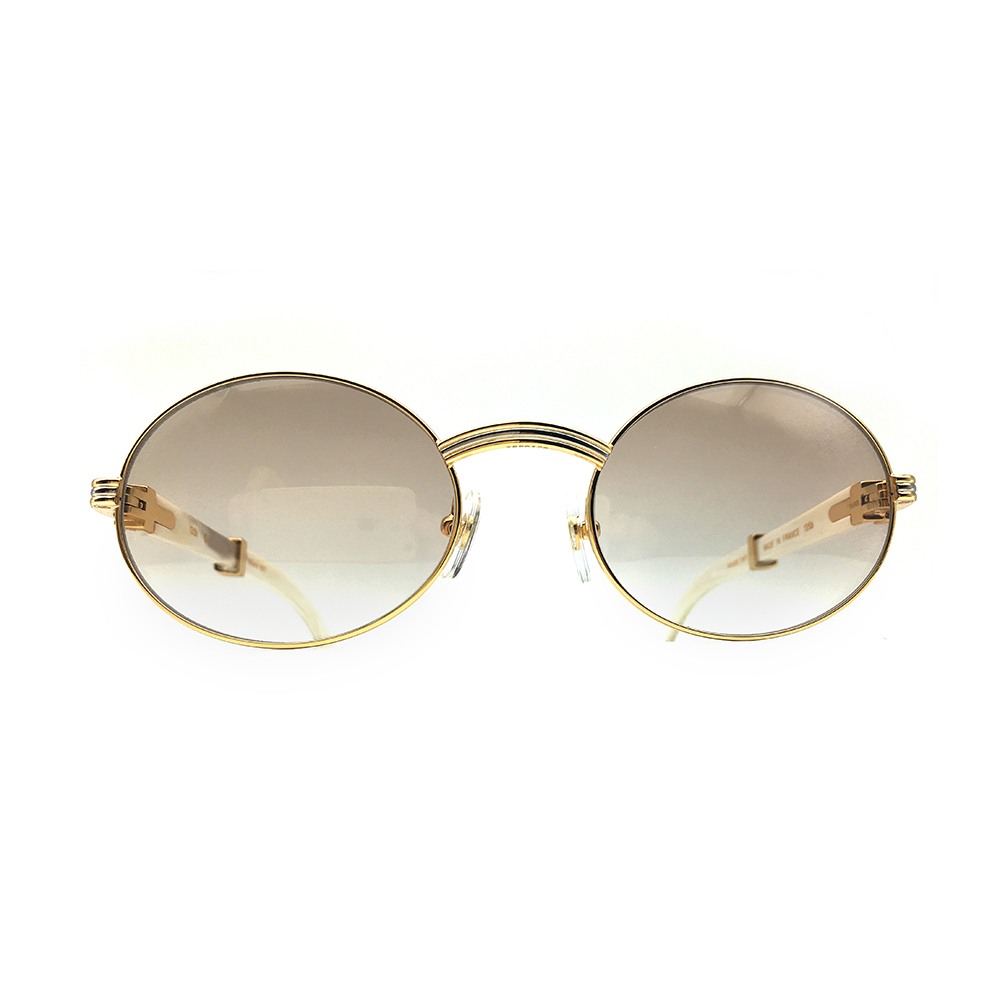 c12e3f909353e Classic Carter sunglasses men white buffalo horn glasses frame ...
