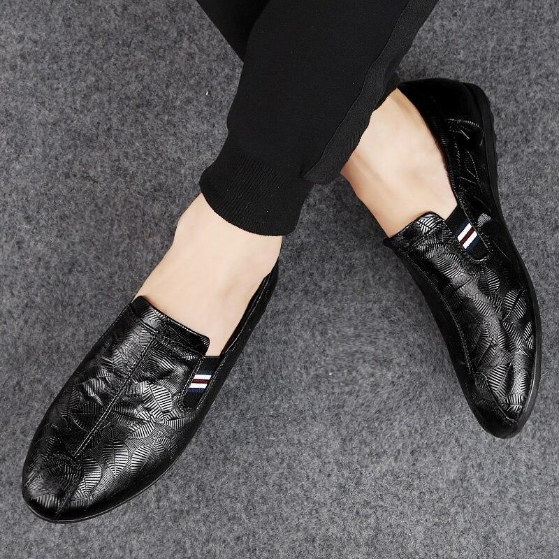 NORTHMARCH Nieuwe Lederen Mannen Schoenen Mode Mannen Casual Schoenen Instappers Mocassim Masculino Driving Heren Zapatos Hombres - 5