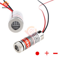 Adjustable Beam 650nm 5mW Red Point / Line / Cross Laser Module Industrial Class laser Head Glass Lens Focusable 3-5V(China)