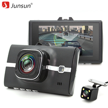 Junsun Car DVR font b Camera b font Dual Lens Full HD 1080P Video Recorde with