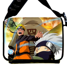 Naruto Anime Cosplay Kakashi Hatake Shoulder School Bag Students Canvas Messenger Bags
