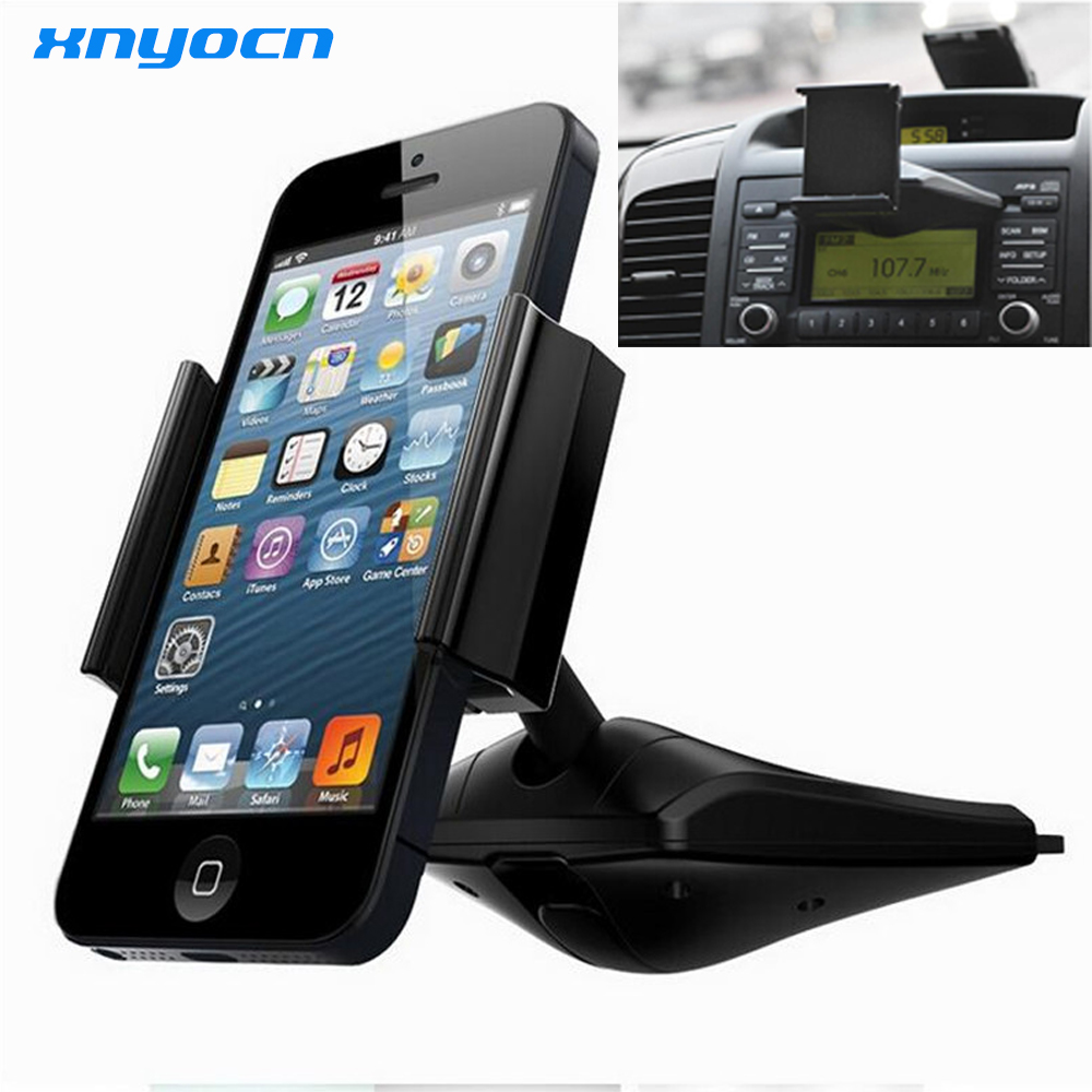 360 degree Universal Car CD Slot Dash Phone Mount Stand Holder For iPod font b GPS