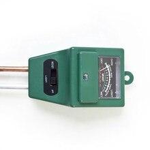 3 em 1 digital umidade do solo luz solar medidor de ph testador para plantas flores acidez medição umidade ferramentas jardim