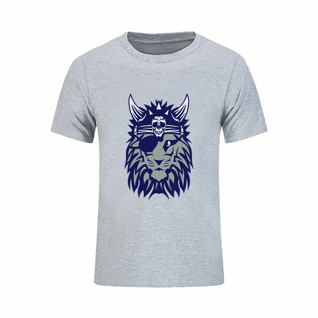 af819072e3 Hip Hop T Shirt Reggae viking helmet eyed lion skull Costume Adult Rasta  Lion Tops Tees Novelty Camisetas naruto world of tanks