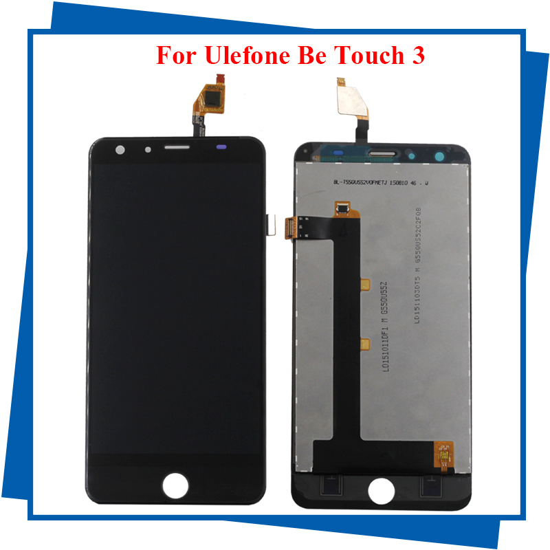 ФОТО 100% Original For Ulefone be touch 2/3 GS004540055-FPC-V2 LCD Display+TouchScreen Digitizer Assembly Replacement Accessories