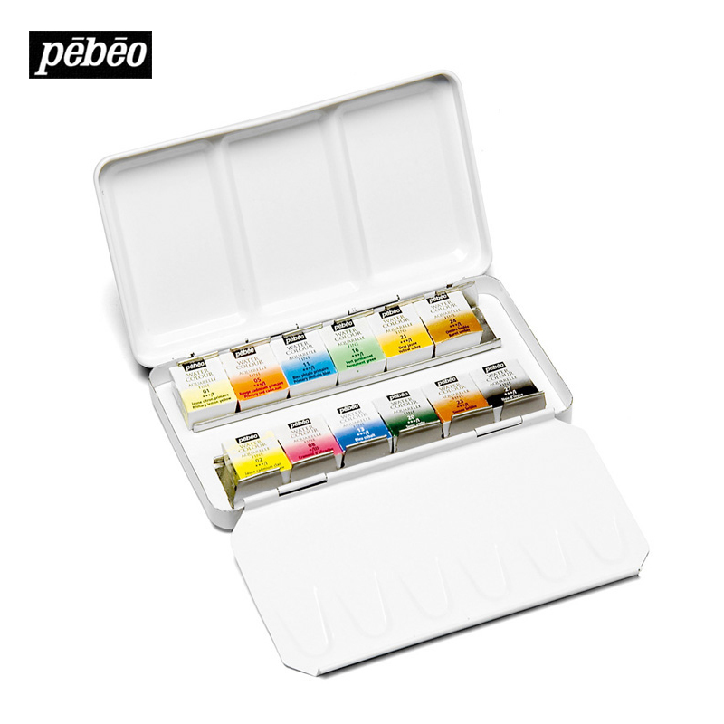 Bgln France Pebeo12 Colors Solid Water Color Paint Art Watercolor Pigment  Paints For Artist Student aquarela. Compare Prices on Infrared Paint  Online Shopping Buy Low Price