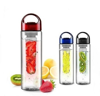 1PC Portable fruit Infusing Infuser Water bottle Sports
