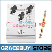 Biyang AD 8 Electric Guitar Bass Effect Pedal Double Chip Analog Delay True Bypass Brand New